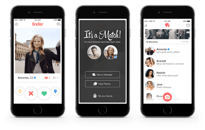 hookup sites like tinder