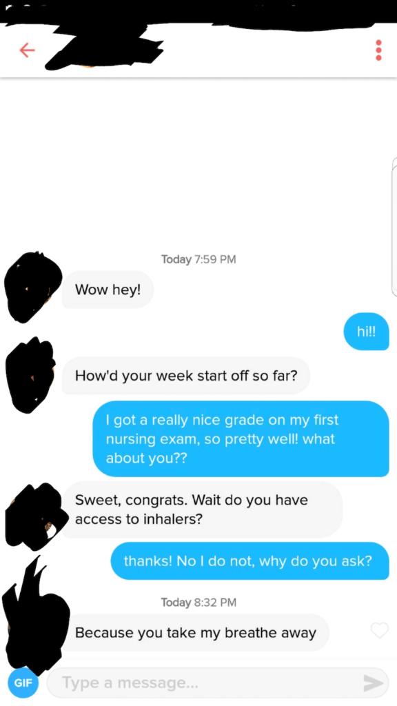 Nursing Pick Up Lines