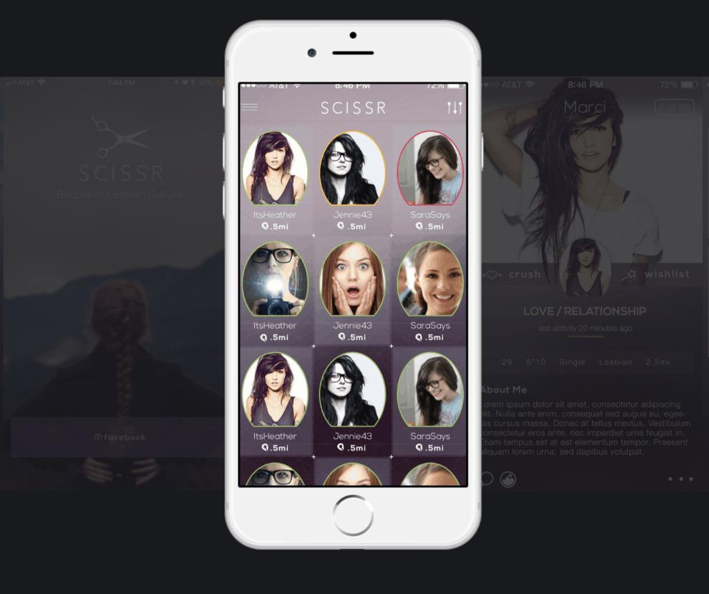 Scissr-lesbian-app