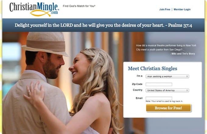 Free christian mingle com