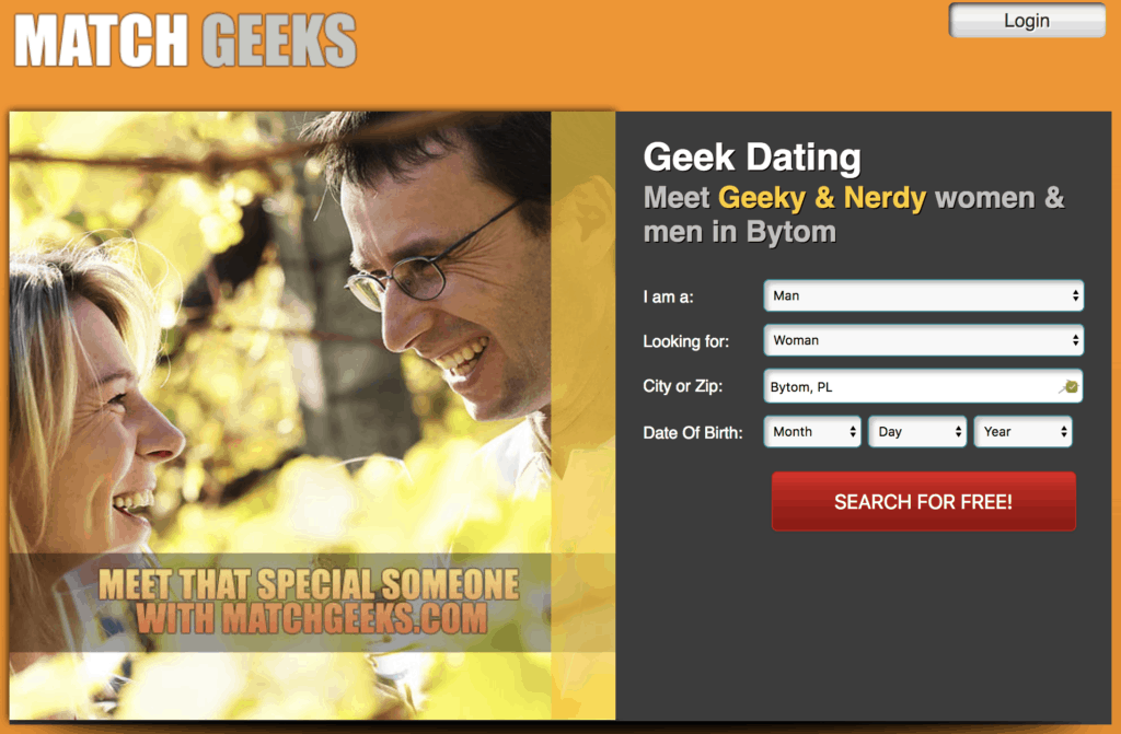 Dating site for nerds